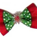 Holiday Dog Hair Bows