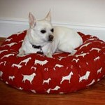 Holiday-Round-Dog-Bed-Pillow-Cover