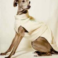 Cotton Dog Bathrobe