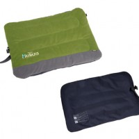 Polar Fleece Outdoor Travel Folding Dog Bed Green