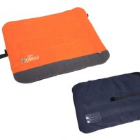 Polar Fleece Outdoor Travel Folding Dog Bed Orange