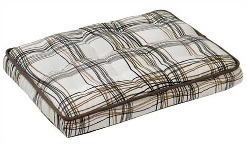 Driftwood Pattern Dog Crate Mattress