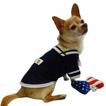High Seas Sailor Dog Tank