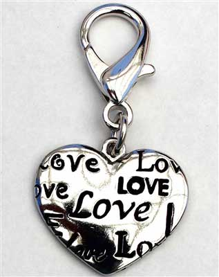 Love Heart Charms For Dog and Cat