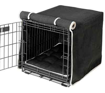 Microlinen Luxury Crate Cover Storm