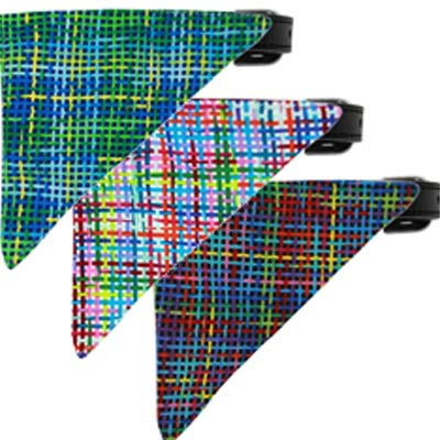 Plaid Pet Bandana Collection