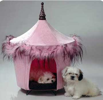 Posh n Pink Bed Pet Bed Tent