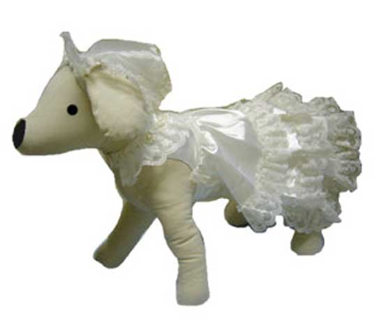 Dog Wedding Dress