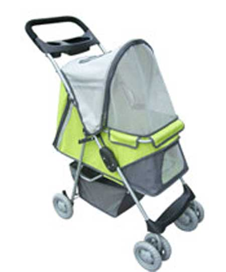 Sporty Pet Stroller For Up To 40 Lbs