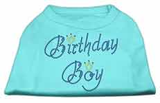 Birthday Dog Boy Rhinestone Shirts