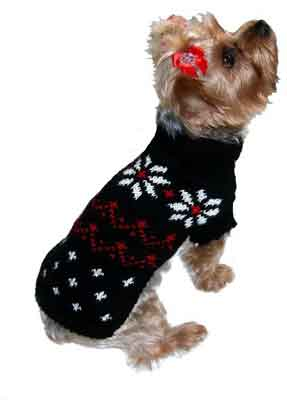 Black Jack Frost Dog Sweater