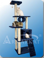 Dark Blue Cat Condo