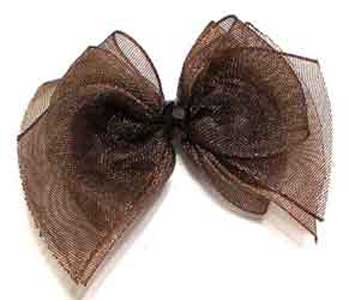 Brown Fairy Wings Bow