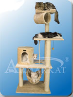 Cat Tree Hanging Tunnel, Hammock, Thick Hanging Sisal Rope
