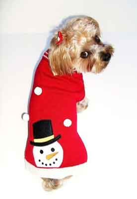 Frosty the Snowman Pup Sweater