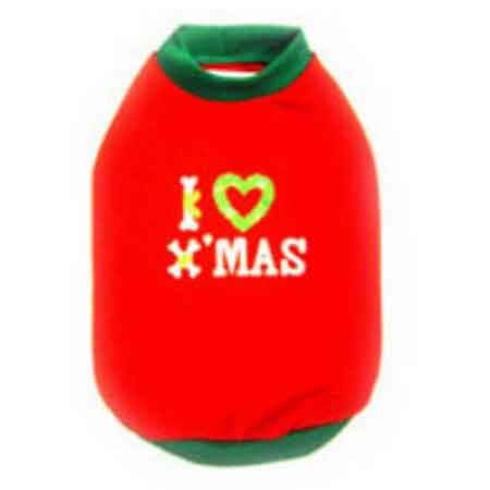 I Love X'Mas Shirt
