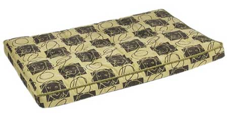 luxury Dog Crate Mattress Green Apple (Dog Days)