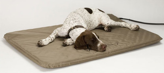 Heated Orthopedic Dog Beds Indoor or Outdoor