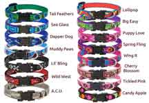 "1/2"" Pet Collar Harness & Leads 14 Patterns"